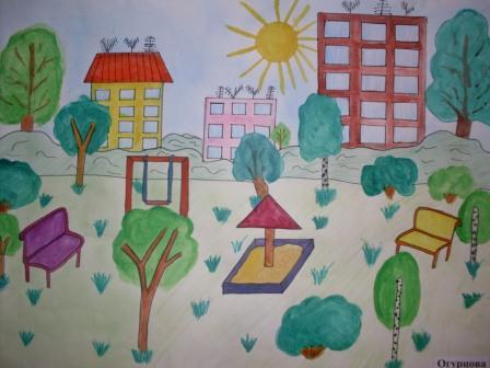 рисунки детей на конкурсе мир глазами детей